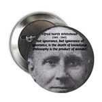 Philosopher: Alfred Whitehead Button