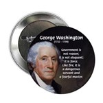 "Politics: George Washington 2.25"" Button (100 pack"