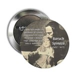 "Rationalist Baruch Spinoza 2.25"" Button (100 pack)"