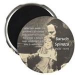 "Rationalist Baruch Spinoza 2.25"" Magnet (100 pack)"