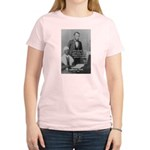 Lincoln with Sojourner Truth Women's Pink T-Shirt