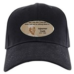 Feminist Sojourner Truth Black Cap