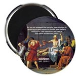 "Truth and Wisdom: Socrates 2.25"" Magnet (10 pack)"