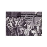 Death of Socrates Rectangle Magnet (100 pack)