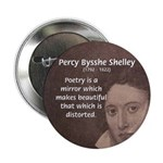 """Romantic Poet Percy Shelley 2.25"""" Button (10 pack)"""