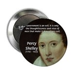 "Romantic Writer: Percy Shelley 2.25"" Button (10 pa"