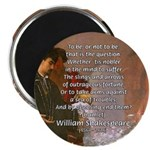 "Hamlet Famous Soliloquy 2.25"" Magnet (100 pack)"