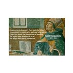 Saint Augustine of Hippo Rectangle Magnet