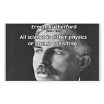 Nuclear Physics: Rutherford Rectangle Sticker