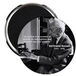 """Russell: Logic and Opinion 2.25"""" Magnet (10 pack)"""