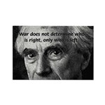 Bertrand Russell Rectangle Magnet (100 pack)