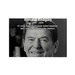 Humour of Ronald Reagan Rectangle Magnet (100 pack