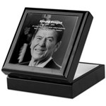 Humour of Ronald Reagan Keepsake Box