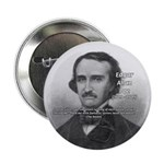 "Gothic Edgar Allan Poe 2.25"" Button (100 pack)"