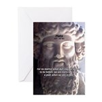 Dialogues of Plato Poet in Love Greeting Cards (Pa
