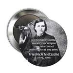 "Critic of Religion: Nietzsche 2.25"" Button (100 pa"
