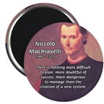 "Political Theory: Machiavelli 2.25"" Magnet (10 pac"
