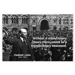 USSR Foundation Lenin Large Poster
