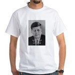 Power of the Idea JFK White T-Shirt