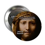"""Jesus Peace and Love 2.25"""" Button (100 pack)"""