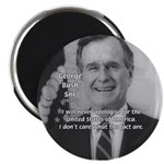 Politics George W. Bush Snr Magnet