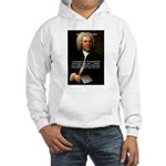 Composer J.S. Bach Hooded Sweatshirt