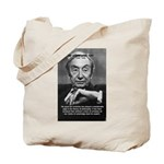British Philosophy Ayer Tote Bag