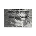 Anaximenes Air Philosophy Rectangle Magnet (10 pac