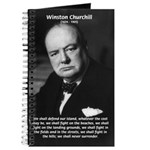 World War 2 Churchill Journal