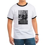 Marie Curie Physics Liberty Ringer T