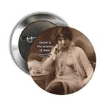 """Spinoza: Desire and Man 2.25"""" Button (100 pack)"""