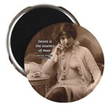 """Spinoza: Desire and Man 2.25"""" Magnet (100 pack)"""