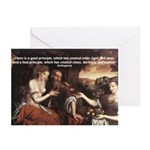 Pythagoras Quote on Women  Greeting Cards (Package