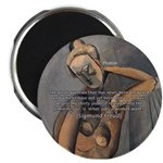 """Freud Female Sexuality 2.25"""" Magnet (10 pack)"""