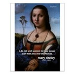 Mary Shelley Men / Women Small Poster