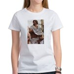 Aristotle Education Quote Women's T-Shirt
