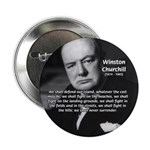 "Churchill Fear of Truth 2.25"" Button (100 pack)"