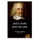 Thomas Hobbes Truth Large Poster