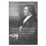 Goethe on Pure Thought Large Poster