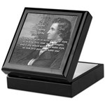 Goethe on Pure Thought Keepsake Box