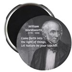 """Nature Wordsworth Poetry 2.25"""" Magnet (10 pack)"""