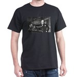 World War II Churchill Black T-Shirt