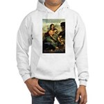 Leonardo da Vinci Art Spirit Hooded Sweatshirt