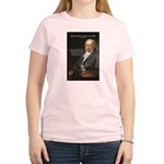 Goya Fantasy Monster Quote Women's Pink T-Shirt