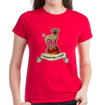 Find the perfect gifts for three legged dog lovers with the 2010 Tripawds Hoppy Holidays Gift Guide for the most popular three-legged dog t-shirts, sweatshirts, cards, mugs and gifts.