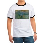 Claude Monet Torture Art Ringer T