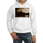 Rembrandt Painting & Quote Hooded Sweatshirt