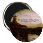 "Rembrandt Painting & Quote 2.25"" Magnet (10 pack)"
