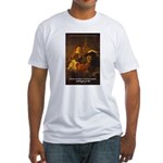 Art & Atmosphere Rembrandt Fitted T-Shirt