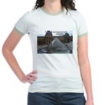 Renoir The Louvre & Nature Jr. Ringer T-Shirt